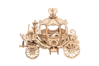 Robotime Modern 3D Wooden Puzzle-Non Animals Pumpkin Carriage