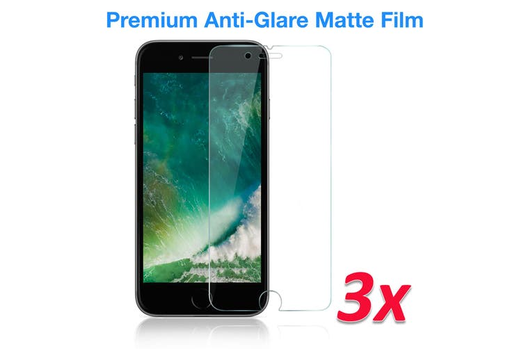 """[3 Pack] Apple iPhone SE 2020 (4.7"""") Anti-Glare Matte Screen Protector Film by MEZON – Case Friendly, Shock Absorption (iPhone SE 2020, Matte) – FREE EXPRESS"""