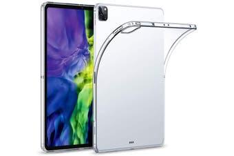 "Apple iPad Pro 11"" (2020) Crystal Clear Transparent Ultra Slim Soft TPU Gel Back Case by MEZON – Shock Absorption, Pencil Friendly – (iPad Pro 11"" 2020, Gel)"