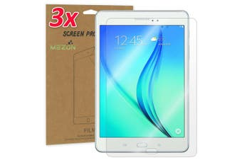"""[3 Pack] Samsung Galaxy Tab A 9.7"""" Ultra Clear Film Screen Protector by MEZON (SM-T550, T555, Clear)"""
