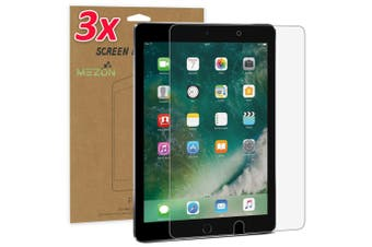 """[3 Pack] Apple iPad Air 10.5"""" 2019 Ultra Clear Film Screen Protector by MEZON – Face ID Compatible, Case and Pencil Friendly (iPad Air 10.5"""", Clear)"""