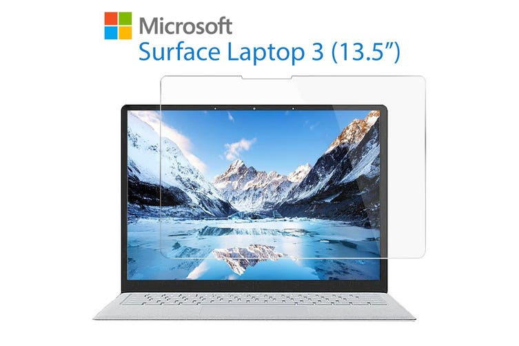 """[3 Pack] Microsoft Surface Laptop 3 (13.5"""") Ultra Clear Film Screen Protector by MEZON – Case and Surface Pen Friendly, Shock Absorption"""