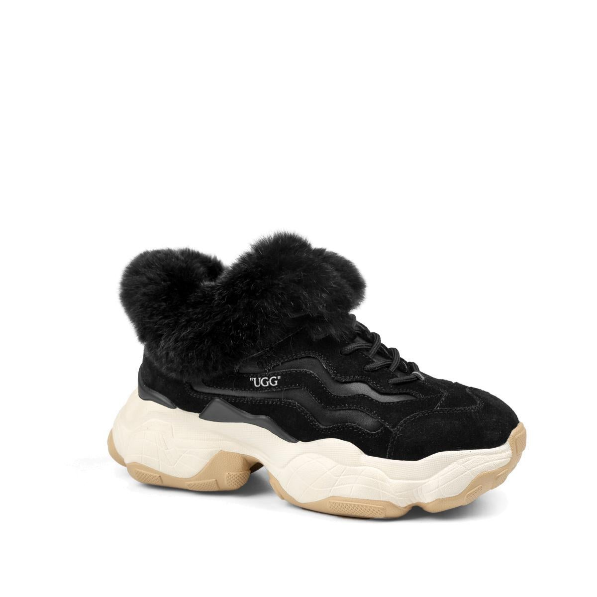 OZWEAR UGG Vintage Brook Fur Sneaker