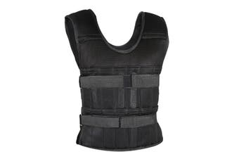 15kg Capacity Weight Vest Weighted Resistance Training Load Bearing Running Gym