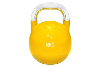 16kg Kettlebell Weight Russian Kettle Bell Training Yoga Fitness Lifting Stainless Steel