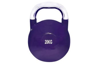 20kg Kettlebell Weight Russian Kettle Bell Training Yoga Fitness Lifting Stainless Steel