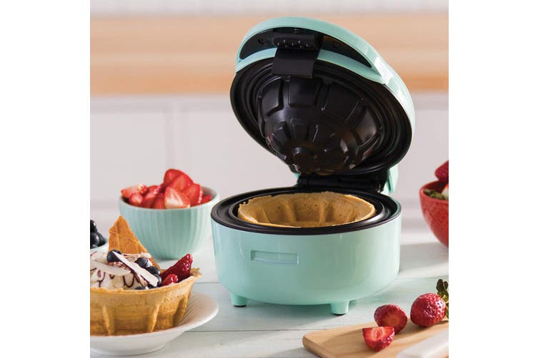 TODO Waffle Bowl Maker Ice Cream Dessert Treat Maker Breakfast Bowl - Green