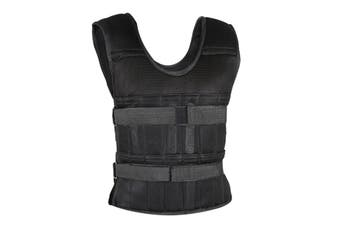 35kg Capacity Weight Vest Weighted Resistance Training Load Bearing Running Gym