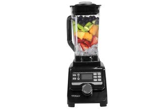 1400W Commercial Blender Processor 2L Tritan Bpa Free Jug Ice Crush Black