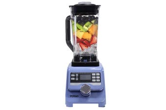 1400W Commercial Blender Food Processor 2L Tritan Bpa Free Jug Ice Crush Blue