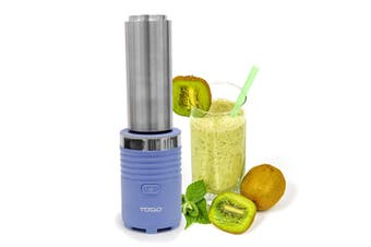 300W Smoothie Maker Drink Blender 600Ml Double Wall Stainless Steel Jar Blue