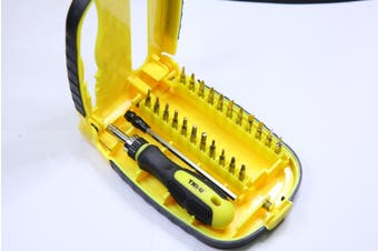 Tni-U 22 Piece Precision Screwdriver Set Ph Torx Flat Pz Bit Case