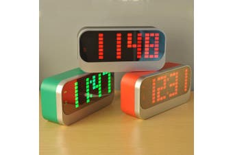 Led Digital Alarm Clock Usb Powered Large Display
