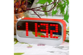 Led Digital Alarm Clock Large Display Usb Powered Red