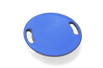 Balance Board Trainer Wobble Disc Yoga Gym Exercise 40cm 360 Degree Rotation - Blue