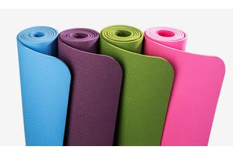 TPE Yoga Mat Eco-Friendly Non Slip Exercise Mat 175cm x 61cm