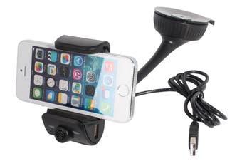 Bluetooth V3.0+ Edr Smart Phone Handsfree Holder Speaker Charger Bt8115