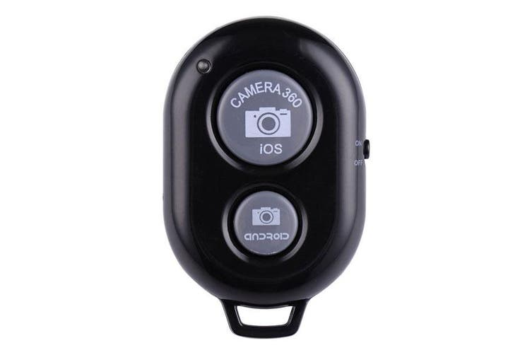 Bluetooth Camera Shutter Remote Control Self Timer Release Ios Android Black