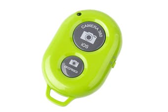 Bluetooth Camera Shutter Remote Control Self Timer Release Ios Android Green