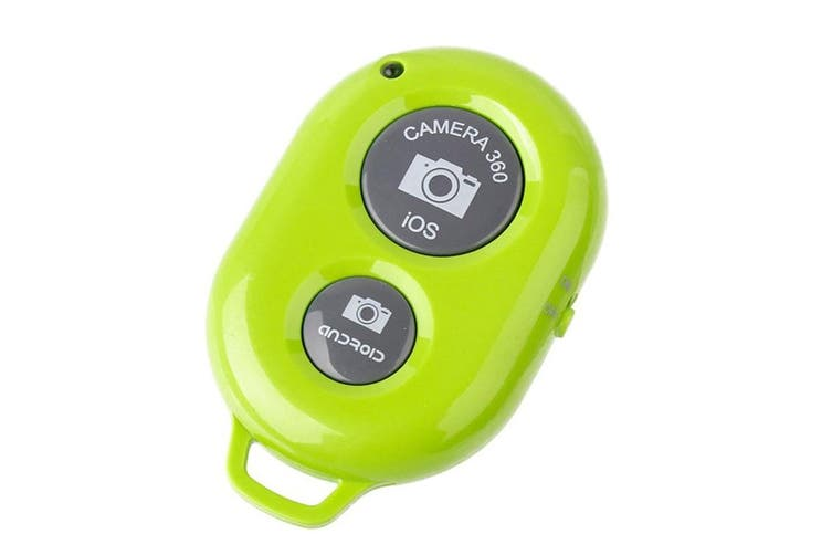 Bluetooth Camera Shutter Remote Control Self Timer Release Ios Android White
