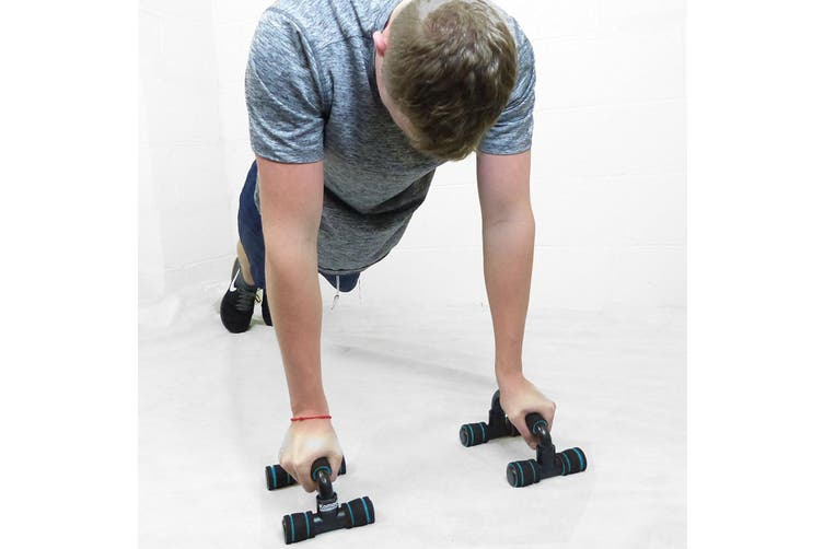 Push Up Stands H Shape Pushup Chest Training Exercise Gym Fitness Pair