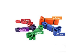 44mm Heavy Duty Resistance Band Loop Exercise Pilates Yoga Physio Stretch