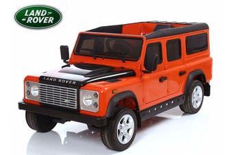 Land Rover Defender Suv 70W Motor 12V Battery Eva Tyre Kids Ride On Car Licensed