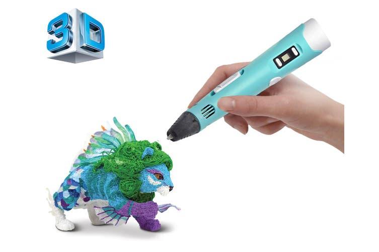 3D Printer Modelling Pen Temperature Control Craft Abs Printer Blue