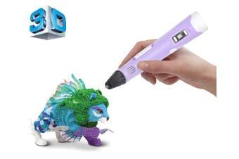 3D Printer Modelling Pen Temperature Control Craft Abs Printer Purple