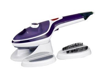 Steam Brush Iron Travel Handheld Portable Clothes Steamer Garment Brush Purple
