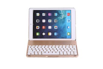 "Bluetooth V3.0 Keyboard Case Wireless For Apple Ipad Pro 9.7"" - Rose Gold"