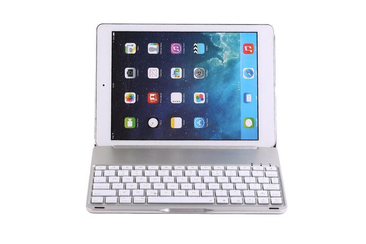 "Wireless Bluetooth V3.0 Keyboard Case For Ipad Pro 9.7"" Apple Silver"