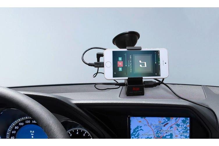 Fm Transmitter Phone Holder Handsfree Speaker Mp3 Tf Card Playback Aux In Fm-29