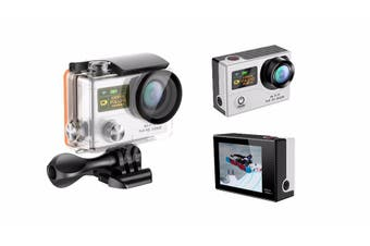 "1080P Full Hd Wifi Sports Action Camera 2"" Lcd Video G3 Silver"