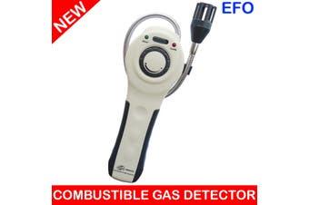 Combustible Gas Detector Gooseneck Probe + Carry Case Natural Lpg Coal Methane