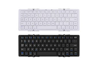 Foldable Bluetooth Keyboard V3.0 Aluminum Alloy For Iphone Android Tablet Pc
