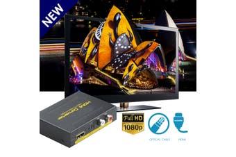 Hdmi To Hdmi Optical Spdif Rca L/R Audio Extractor Converter Hd 1080P Splitter