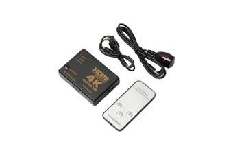 4K Ultra Hd 3 Input To 1 Output 3D Hdmi Switch Switcher Selector Splitter Eyeful