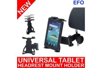 "360° Rotating Universal Headrest Tablet Car Mount Holder For 4.3 - 11.6"" Tablet"
