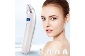 4 In 1 Electric Facial Skin Care Pore Blackhead Remover Acne Cleanser Vacuum Extractor