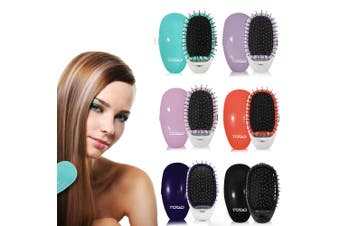 Ionic Styling Hair Brush Smooth Silky Hair Stainless Steel Bristle