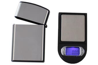 Mini Digital Electronic Pocket Scale 100G / 0.01G Tare Backlit Lcd + Case