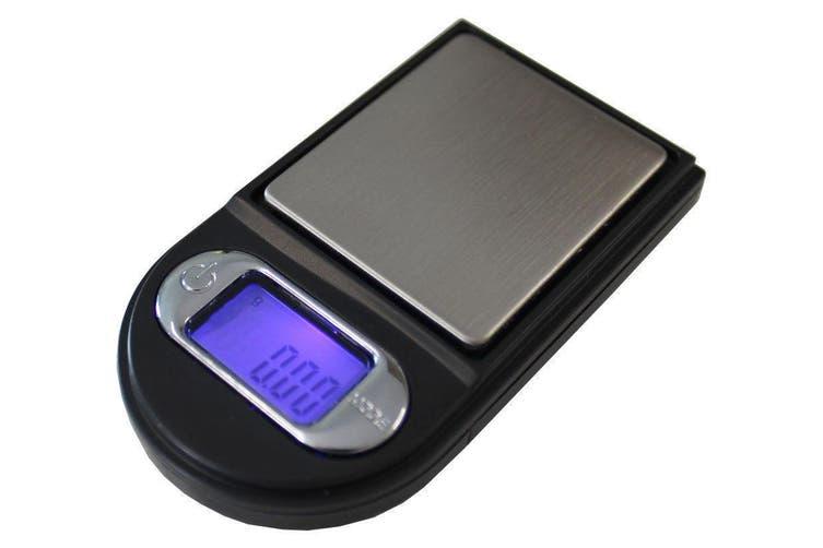 Mini Digital Electronic Pocket Scale 100G / 0.01G Tare Backlit Lcd + Case