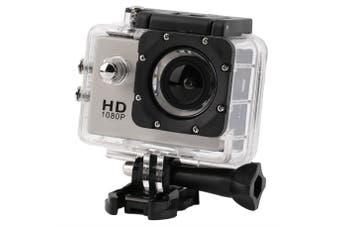 N9Se Portable 30M Waterproof Wi-Fi Loop Recording 1080P Action Camera Silver