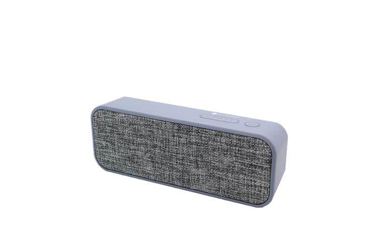 Bluetooth V2.1 +Edr Wireless Stereo Speaker Rechargeable Usb Tf Fm Grey