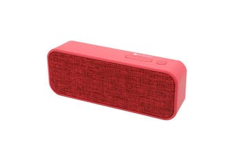 Bluetooth V2.1 +Edr Wireless Stereo Speaker Rechargeable Usb Tf Fm Red
