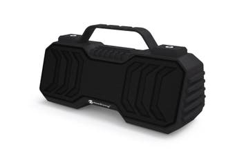 "Bluetooth V5.0 Portable Speaker Mini Boombox Usb Aux Fm €"" Black"