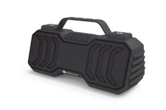 "Bluetooth V5.0 Portable Speaker Mini Boombox Usb Aux Fm €"" Grey"