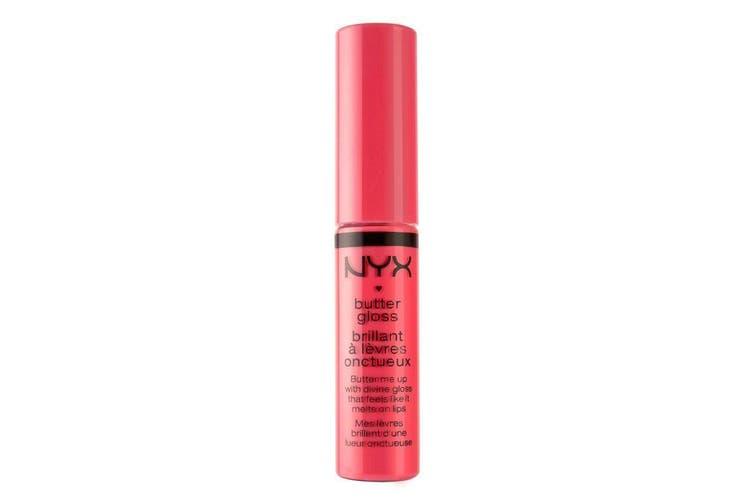 Nyx Butter Gloss Lip Gloss Cupcake Natural Lipgloss #BLG18