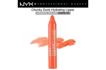 Nyx Chunky Dunk Hydrating Lipstick #Cdhl12 Orange Splash Bright Fresh